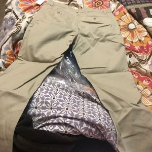 BOYS GAP HUSKY KHAKI PANTS